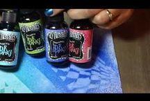 Dylusion spray ink