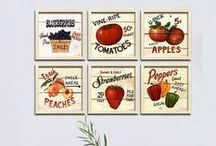 kitchen / decoration posters kitchen