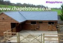 Chapelstone Stables / Chapelstone design and build beautiful stables and mobiles and provide a full turnkey service, from design through to the finished product. www.chapelstone.co.uk