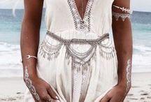 Boho White Style