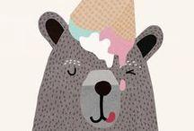 Creative Illustration of Ice Cream / #creative #art #sketch #illustration #funny #cool #gelato #icecream #fun #hilarious #top #animals #sketches #dridri