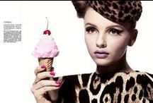 Fashion Photography with Ice Cream / #fashion #photography #mode #icecream #girls #summer