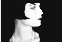 "Louise Brooks / ""I have a gift for enraging people, but if I ever bore you it will be with a knife."""