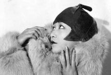 "Anna May Wong / ""The first time I saw Anna May on film, I was very moved to see her, a strong Asian woman, moving across an American movie screen. She was a true pioneer. The look in her eyes, her distinctive style, were all very inspiring to me. I loved the way she turned all the dragon-lady cliches on their heads. She was limited in her roles, but she transcended them. I like to think that all of us have a dragon lady inside us - she represents our power to be ourselves."" (Vivienne Tam)"