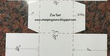 Box Tutorials and ideas / How to tips for box making in particular with Stampin' Up! products