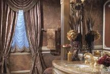 Bathrooms by Perla Lichi / Here's a series of luxurious master bathrooms designed by Perla Lichi.