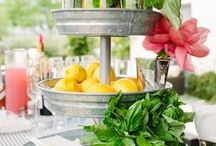 Summer Fun/Party Ideas / Inspiration for summer parties and decor!