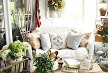 Outdoor Space / Decorating ideas for the outdoors!