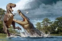 Prehistoric / Over 99.9% of all the animal species that have ever lived are already extinct.  / by Danny Cannon
