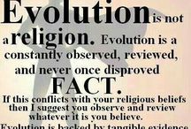 """Evolution. Fact.              Not 'Theory"""" / Evolution. A quiet scientific revolution since the 1850's! / by Des Cannon"""