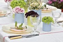 Spring/ Summer Tablescapes / Decorating ideas for entertaining!
