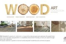 Wood Art Collection / RAK Ceramic's wood art collection is inspired by natural wood and replicates the wood finish on to a true porcelain parquet which is environment friendly. Get the real wood feel and look without chopping down a single tree. The wood collection is perfect to furnish artistically both residential and commercial spaces. http://goo.gl/QUn7Vv