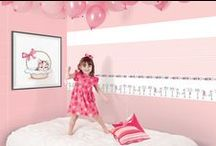 Junior Tiles / RAK Ceramics Junior Tiles collection is exclusively designed for children's room that could be enhanced with images and colours to create its own distinctive place to reflect children's innocent world.