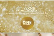 Sheen Collection / Sheen Collection is the brand new range of ceramic tiles from RAK Ceramics. This unique collection possesses subtle shades of gold to give myriad shimmer to your home. Manufactured with the latest technology, Sheen collection exhibits rich gleam of gold combined with light and delicate designs.