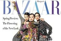 My Magazine Covers / A collection of my covers from the 90s, including Vogue, Elle, and Harper's Bazaar!