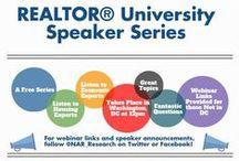 REALTOR® University Speaker Series