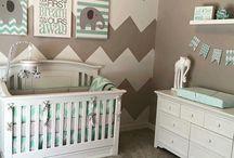 Babykamer inspiratie / Kinderkamers, baby inspiratie