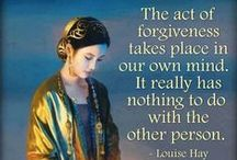 Karma + Forgiveness + Healing / A Karmic experience allows you to - Reflect - Correct - mistakes made in the past - to Evolve.  All possible with Forgiveness, the necessary component to facilitate true Spiritual Healing.