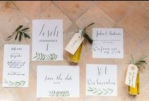 Country Wedding Stationery