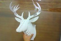 DIY Deers forever - Szarvas kreatív
