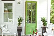 Front Doors / From a bold statement to a classic look, let our Benjamin Moore paint colors welcome you home.