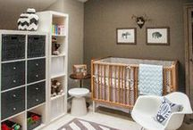 Nursery Inspirations / Welcoming a new addition to your home? Congratulaions! Let these beautifully painted rooms help inspire your new nursery.