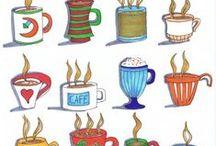 Café café café / A quien no le encanta una buena taza de café humeante por la mañana