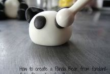 Cake Decorating   Figures / A collection of the cutest fondant figure tutorials ranging from beginner to expert
