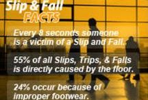 Facts about Slips, Trips, and Falls / Facts/Stats about Slips, Trips and Falls.   Awareness is an essential part of prevention for all STF.