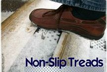 Non-slip Products / Different types of products to help reduce the chances of a STF