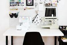Työhuoneen sisustus / Vinkkejä ja inspiraatiota työpisteen sisustukseen