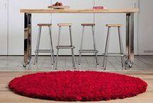 Punaista! / Lämpöä, väriä ja elämää - punainen on upea sisustusväri.