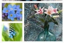Sininen sisustus / Lumoavaa sinistä inspiraatiota sisustukseen