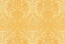 Gold British textiles