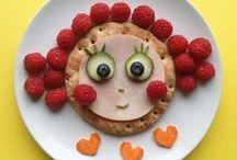 ☺ FOOD ART ☺ / Faites rêver vos enfants en décorant leurs assiettes. Quelques idées à essayer pour faire sourire vos enfants.