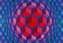 Vasarely illusion