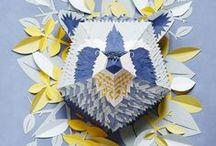 Ƹ̴Ӂ̴Ʒ ART DU PAPIER  Ƹ̴Ӂ̴Ʒ / La créativité n'a pas de limite....découvrez l'art du papier avec Pepahart.
