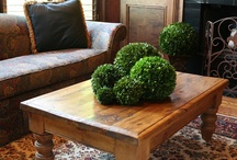 Preserved Boxwood Balls / Bella Marie's preserved boxwood balls are hand crafted using only the finest materials. The boxwood is specially preserved to maintain the lush green color and natural appearance.