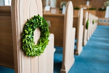 Boxwood Wedding Ideas / Boxwoods are a beautiful way to decorate for your special day.  / by Bella Marie