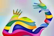 Kleur in je leven /  vorm en kleur