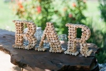 Feeling Corky / Drink, Reuse & Recycle! So many crafty things you can do with wine bottles, corks, barrels, ect!