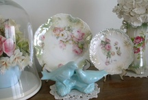 Shabby Chic / SHABBY CHIC MAKES MY HEART SKIP A BEAT. IT IS SO MUCH OF WHAT I LOVE: PINK & ROSES!!! / by Debby Broughton