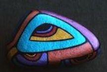 Stenen / Beschilderde stenen