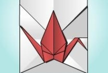 Origami envelope en letterfold / Papiervouwen
