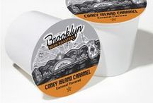 Coney Island Caramel / Buttery, toasted sugar and hints of vanilla cream blend with our 100% Arabica coffee beans!