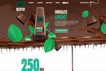 food & drink web designs