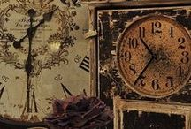 Vintage Clocks / by Bella Marie