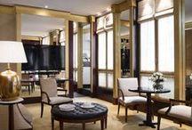 Lavish Rooms & Suites / Spacious interiors, Inovative decor by Ed Tuttle...  / by Park Hyatt Paris-Vendôme