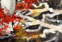 Art on Tiles / Decorative Painting on Ceramic Tiles