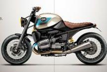 BMW Motoren / BMW motoren Scrambler style